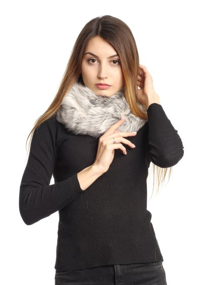 Fur scarves the perfect accessory